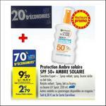 Bon Plan Protection Ambre Solaire Garnier chez Carrefour - anti-crise.fr