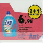 Bon Plan Lessive Liquide Super Croix chez Leclerc - anti-crise.fr