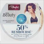 Offre de Remboursement Playtex : 50% Remboursés sur le Soutien-Gorge Ideal Beauty - anti-crise.fr