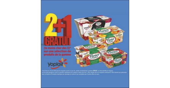 Bon Plan Yaourts Panier de Yoplait chez Géant Casino - anti-crise.fr