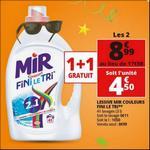 Bon Plan Lessive Liquide Mir Fini Le Tri chez Auchan - anti-crise.fr