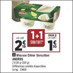 Bon Plan Mousse Andros chez Géant Casino (08/05 - 21/05) - anti-crise.fr