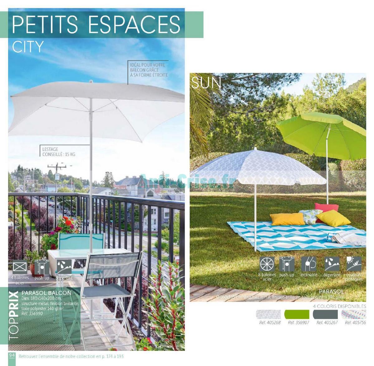 Catalogue Gifi Du 1er Mai Au 31 Août 2018 Plein Air