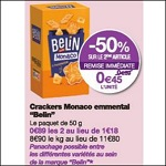 Bon Plan Crackers Belin chez Monoprix (04/04 - 15/04) - anti-crise.fr