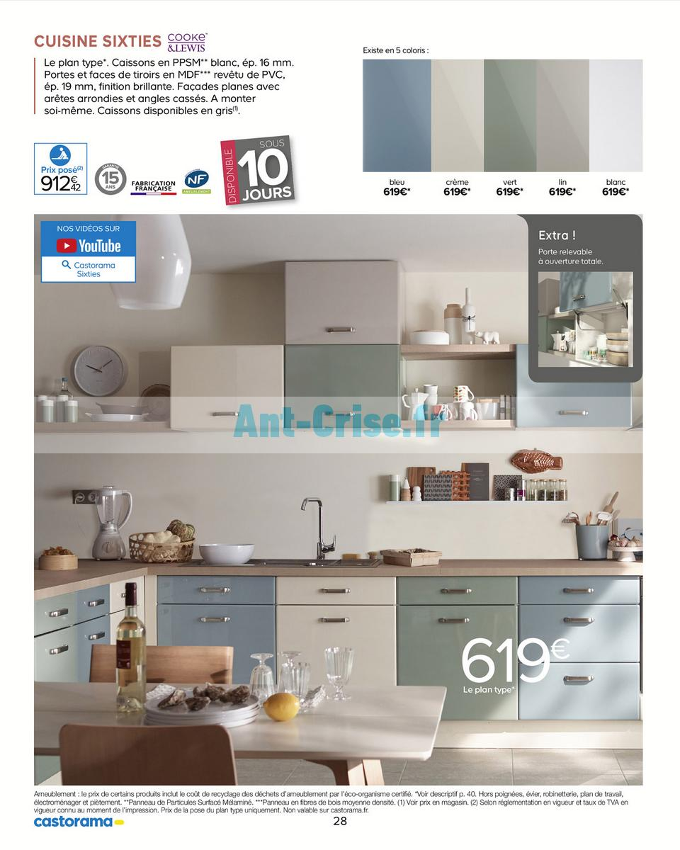 Catalogue Castorama Du 15 Mai Au 31 Decembre 2018 Cuisine