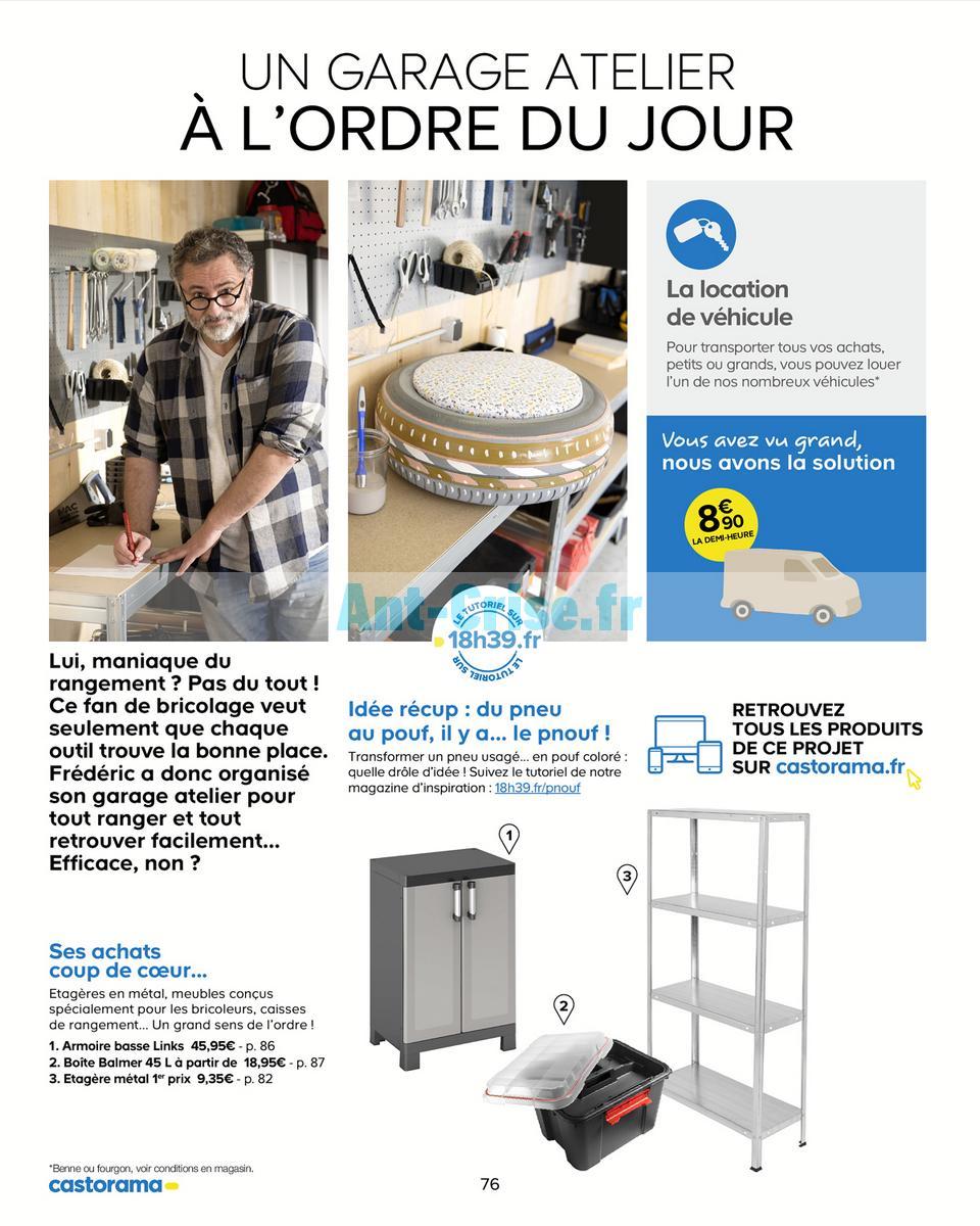 Catalogue Castorama Du 15 Mai Au 31 Decembre 2018 Rangements Catalogues Promos Bons Plans Economisez Anti Crise Fr