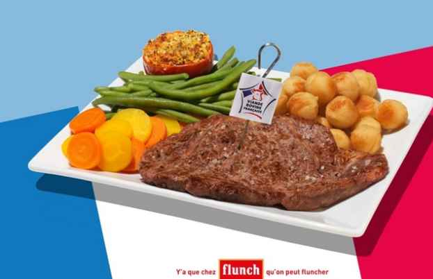 Flunch :  10€ de réduction sur son addition d'au moins 20€