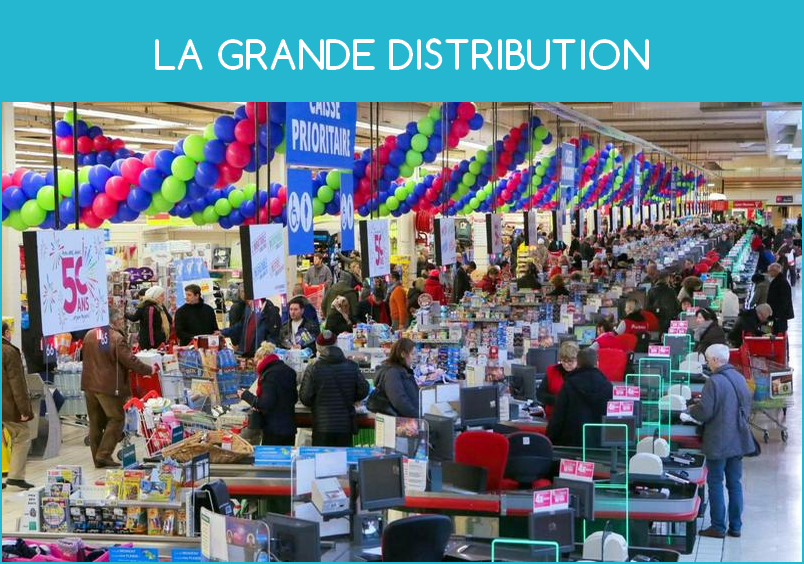 la grande distribution en france