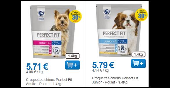 Bon Plan Croquettes pour Chien Perfect Fit chez Leclerc (18/05) - anti-crise.fr