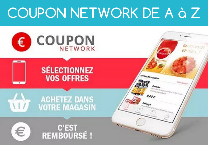 tutoriel bons de réduction du site coupon network