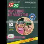 Catalogue G20 du 20 juin au 1er juillet 2018