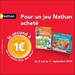 Offre de Remboursement Nathan : Le Second Jeu à 1€ - anti-crise.fr