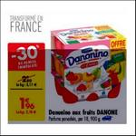 Bon Plan Danonino aux Fruits Danone Carrefour - anti-crise.fr