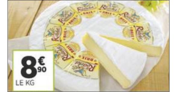 Bon Plan Brie Le Roitelet chez Géant Casino - anti-crise.fr
