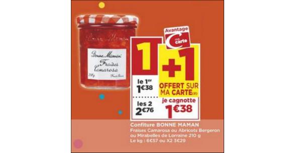 Bon Plan Confiture Bonne Maman chez Casino - anti-crise.fr