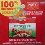 Offre de Remboursement Mutti : Sauce Pizza 100% Remboursé - anti-crise.fr