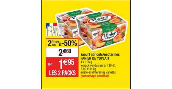 Bon Plan Yaourts Panier de Yoplait chez Cora - anti-crise.fr
