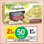 Bon Plan Gratin du Jour Bonduelle chez Intermarché - anti-crise.fr