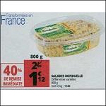 Bon Plan Salade Bonduelle chez Auchan (06/06 - 12/06) - anti-crise.fr