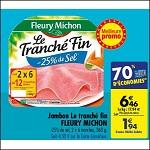 Bon Plan Jambon Fleury Michon chez Carrefour (03/07 - 09/07) - anti-crise.fr
