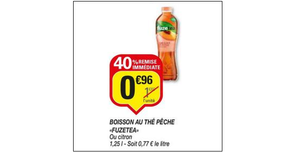 Bon Plan Boisson Fuze Tea chez Netto (19/06 - 01/07) - anti-crise.fr