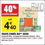 Bon Plan Truite Fumée Bio Ovive chez Carrefour Market (05/06 - 17/06) - anti-crise.fr