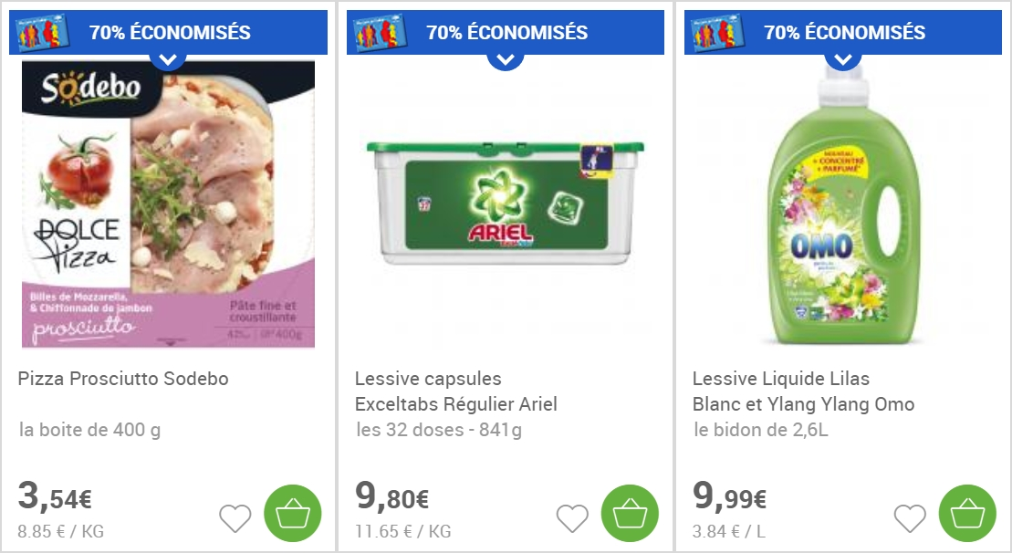 promos drive carrefour
