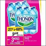 Bon Plan Eau minérale Thonon chez Cora (26/06 - 02/07) - anti-crise.Fr