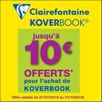 Offre de Remboursement Clairefontaine : Jusqu'à 10€ Remboursés sur Koverbook - anti-crise.fr