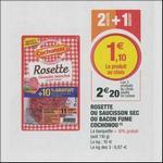 Bon Plan Saucisson, Rosette ou Bacon Cochonou chez Magasins U - anti-crise.fr