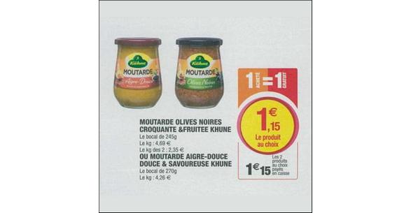 Bon Plan Moutarde Kühne chez Super U - anti-crise.fr