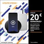 Offre de Remboursement Samsung : Jusqu'à 20€ remboursés sur Chargeur sans fil rapide ou Batterie externe rapide - anti-crise.fr