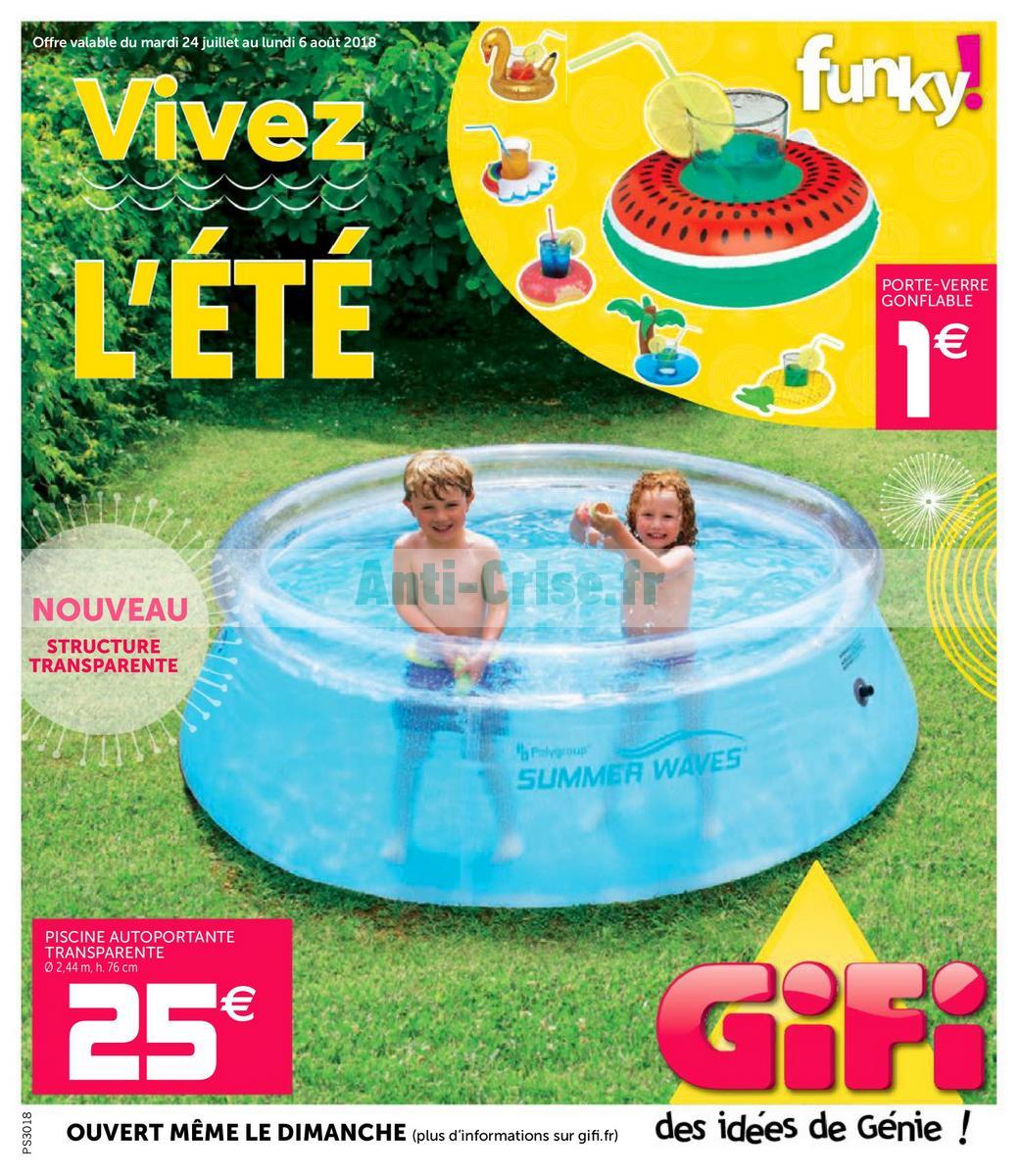 Catalogue Gifi Du 24 Juillet Au 6 Aout 2018 Catalogues Promos