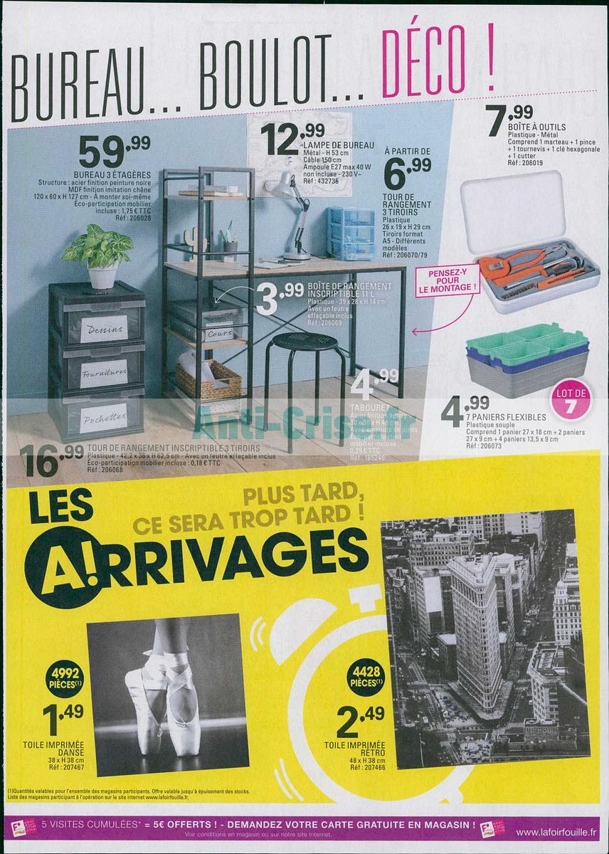 Catalogue La Foir Fouille Du 30 Juillet Au 5 Août 2018