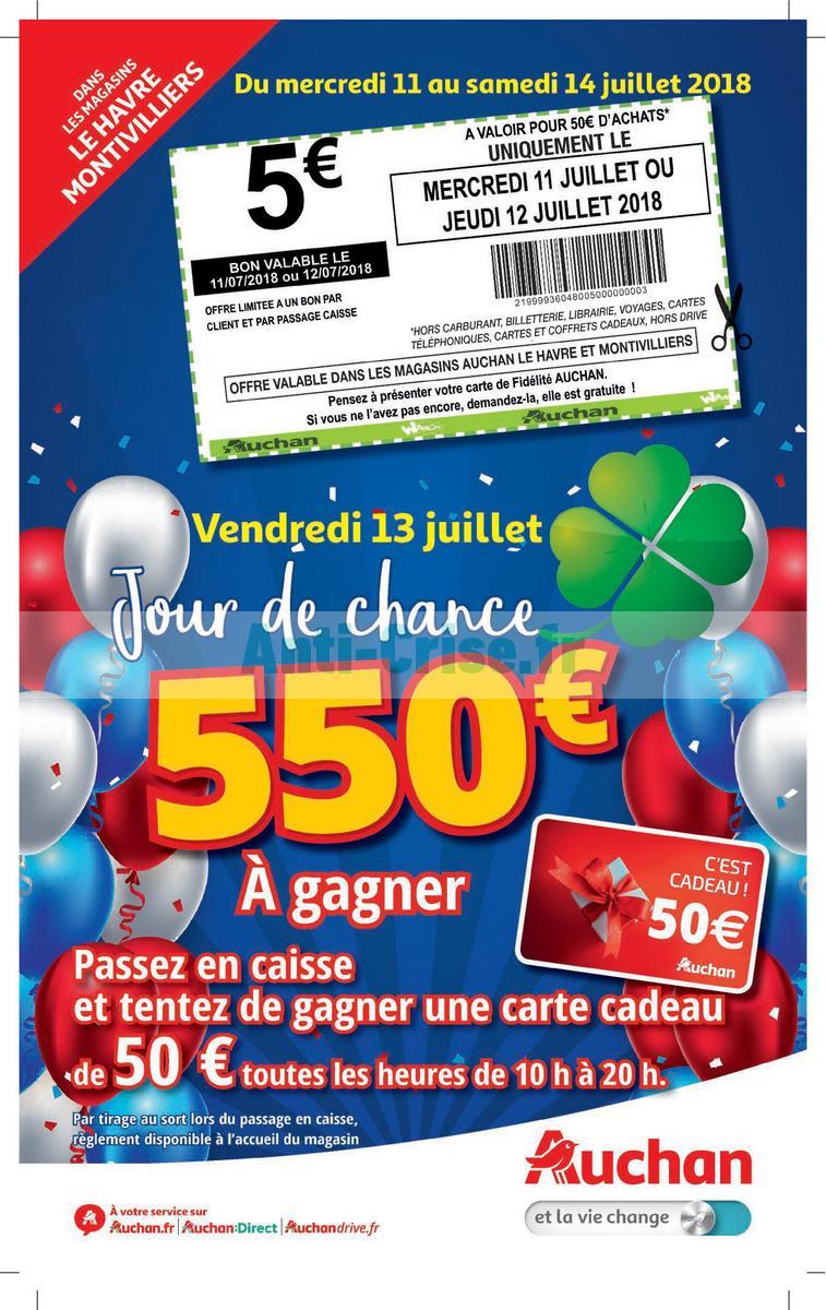 Catalogue Auchan Du 11 Au 14 Juillet 2018 Le Havre