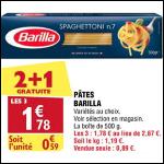 Bon Plan Pâtes Barilla chez Atac (29/08 - 03/09) - anti-crise.fr