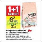 Bon Plan Croquettes pour Chien Beyond chez Carrefour Market (21/08 - 02/09) - anti-crise.fr