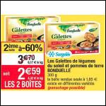 Bon Plan Galettes de Légumes Bonduelle chez Cora (21/08 - 02/09) - anti-crise.fr