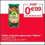 Bon Plan Cornichons Kühne chez Monoprix (29/08 - 10/09) - anti-crise.fr