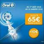 Offre de Remboursement Oral-B : Jusqu'à 65€ Remboursés sur BAD Electrique - anti-crise.fr