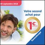 Offre de Remboursement Ravensburger et/ou Nathan : Second Jeu à 1€ - anti-crise.fr