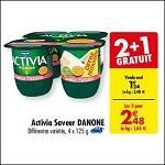 Bon Plan Activia Saveur Danone chez Carrefour (28/08 - 31/08) - anti-crise.Fr
