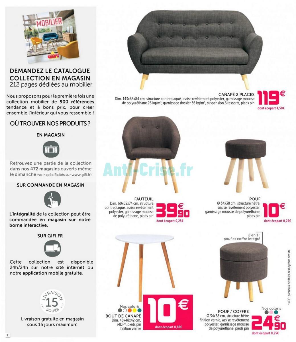 Catalogue Gifi Du 7 Au 15 Août 2018 Catalogues Promos