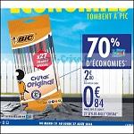 Bon Plan Stylos Bille Cristal Bic chez Carrefour (21/08 - 27/08) - anti-crise.fr