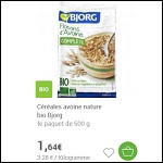 Bon Plan Flocons d'Avoine Bio Bjorg Partout - anti-crise.fr