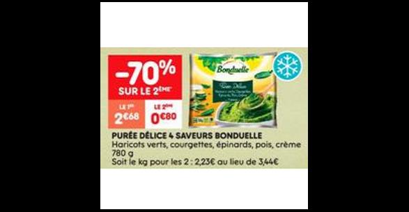 Bon Plan Purée Délice Bonduelle chez Leader Price (28/08 - 09/09) - anti-crise.fr