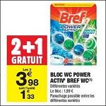 Bon Plan Bloc Bref WC chez Carrefour Market (28/08 - 09/09) -anti-crise.fr