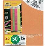 Bon Plan Crayons Graphites Evolution Bic chez Intermarché (09/08 - 09/09) - anti-crise.fr