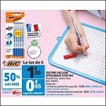 Bon Plan Feutres Velleda Bic chez Auchan (22/08 - 28/08) - anti-crise.fr
