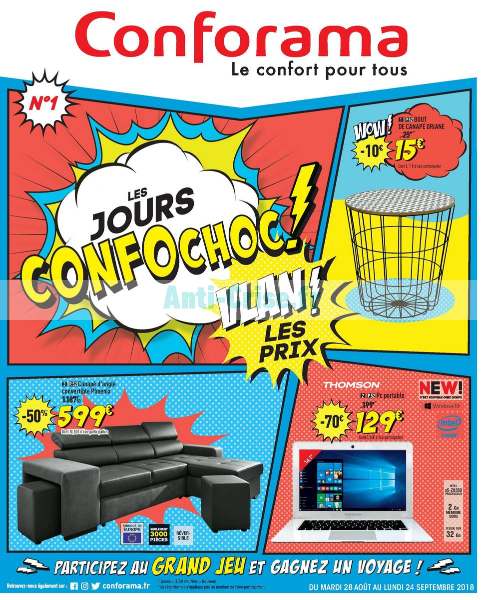 Catalogue Conforama du 28 août au 24 septembre 2018 ...